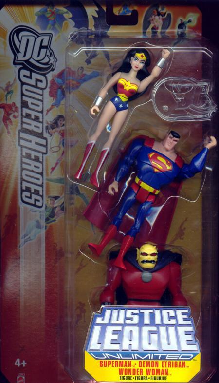 Superman, Demon Etrigan Wonder Woman 3-Pack