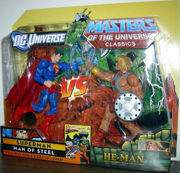 Superman vs He-Man