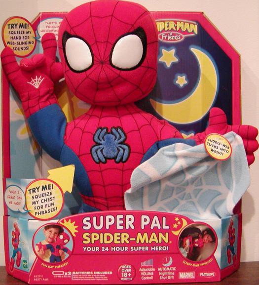 Super Pal Spider-Man Figure Friends Playskool