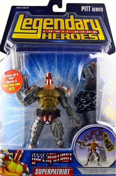 Superpatriot Legendary Comic Book Heroes, masked