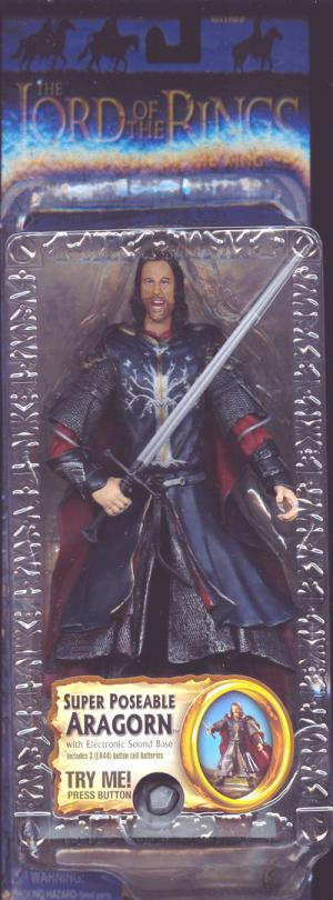 Super Poseable Aragorn Trilogy