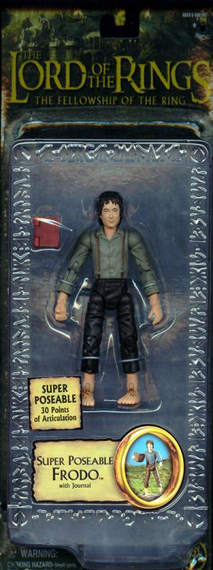 Super Poseable Frodo Figure Journal Trilogy Lord Rings