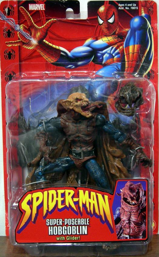 Super-Poseable Hobgoblin Figure Classic Spider-Man