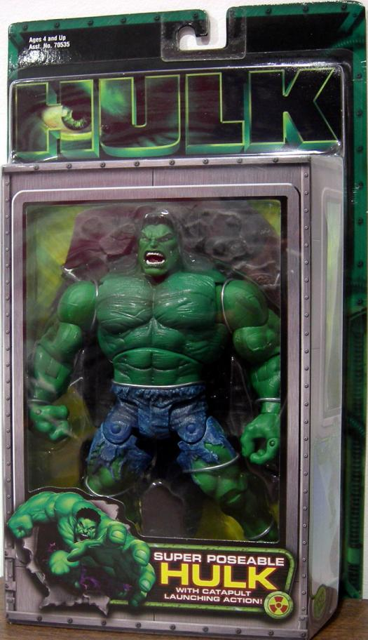Super Poseable Hulk movie