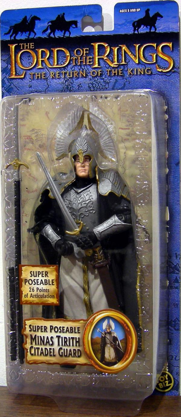Super Poseable Minas Tirith Citadel Guard Figure Trilogy
