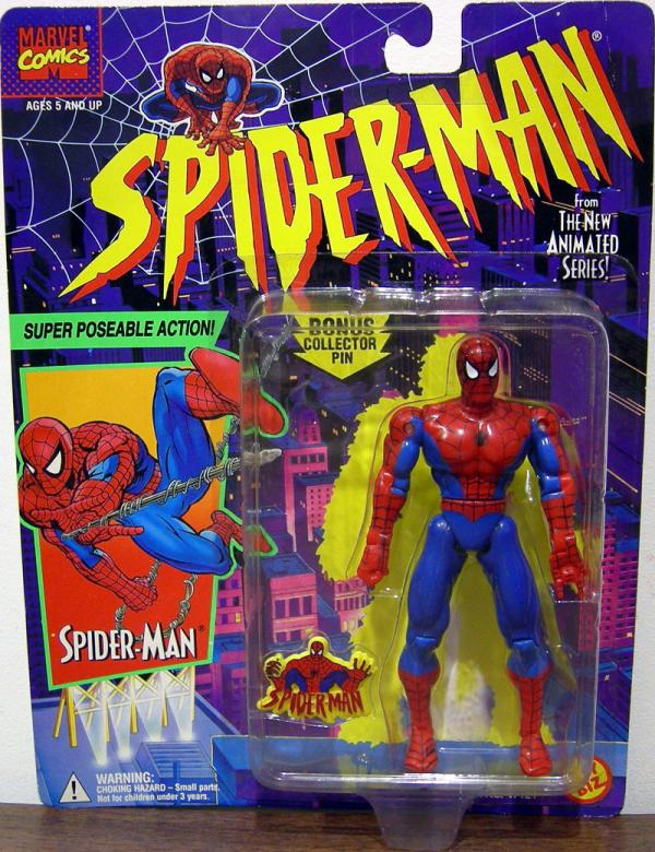 Super Poseable Spider-Man Action Figure Animated