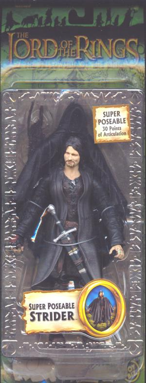 Super Poseable Strider Action Figure Lord Rings Trilogy
