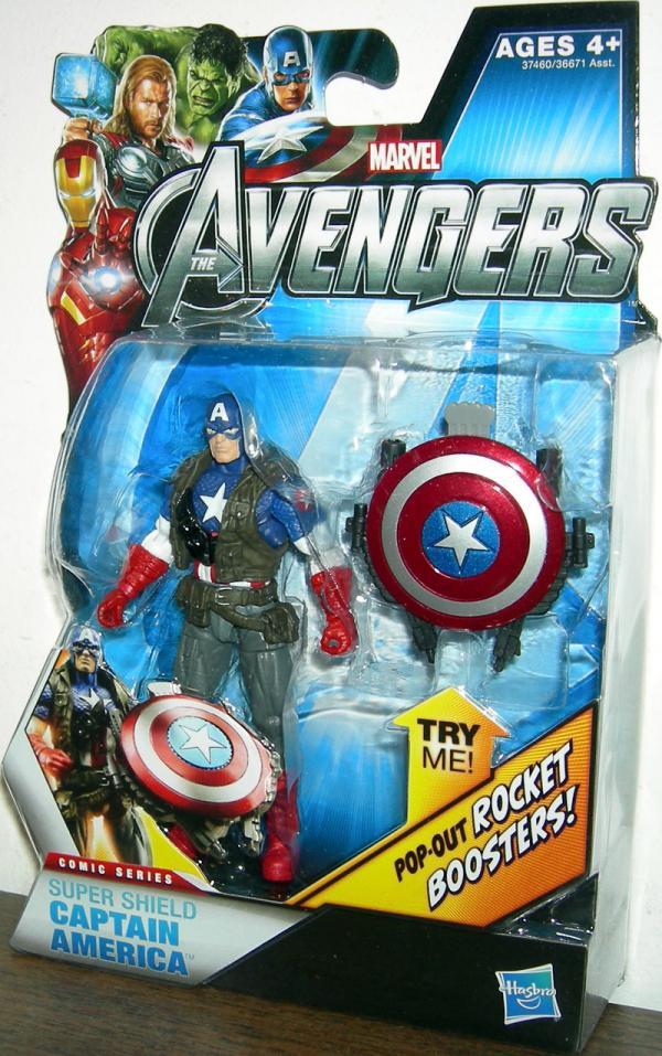 Super Shield Captain America 01 Avengers