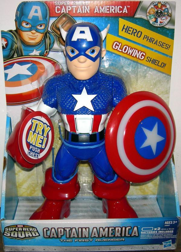 10 inch Super Shield Captain America, Super Hero Squad