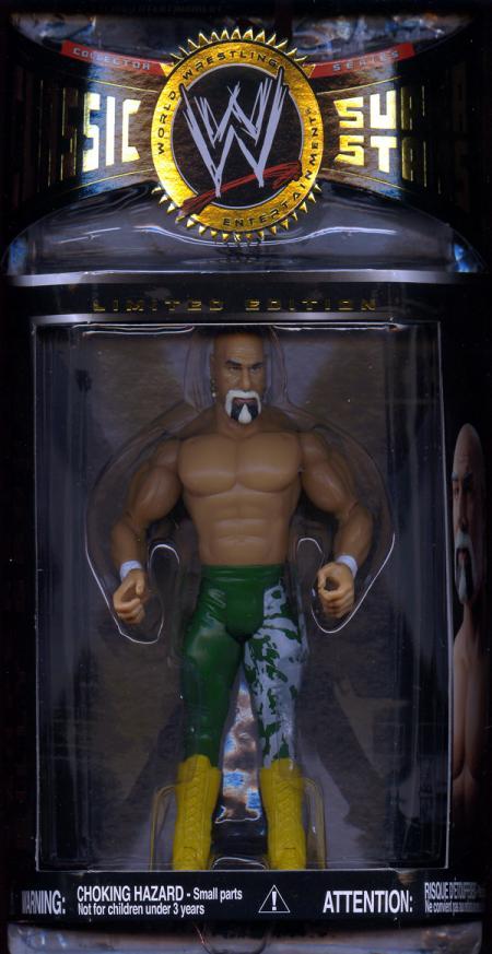 Superstar Billy Graham Action Figure Green Pants WWE Classic SuperStars