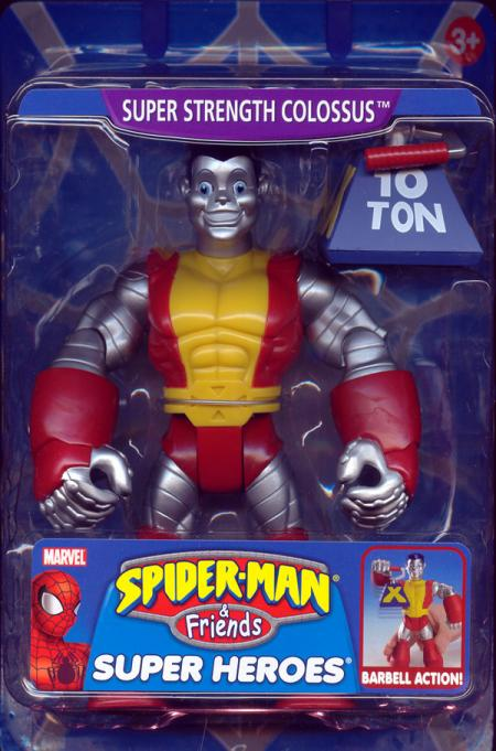 Super Strength Colossus Action Figure Spider-Man Friends