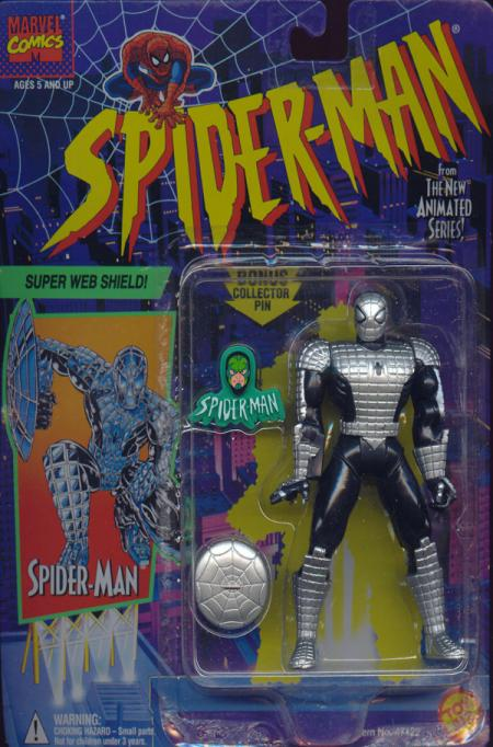 Super Web Shield Spider-Man Animated action figure