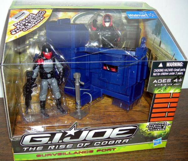 Surveillance Port GI Joe Rise Cobra action figures