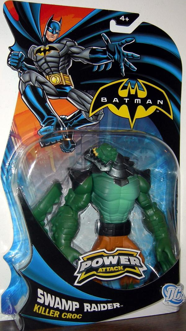 Swamp Raider Killer Croc Batman Power Attack action figure