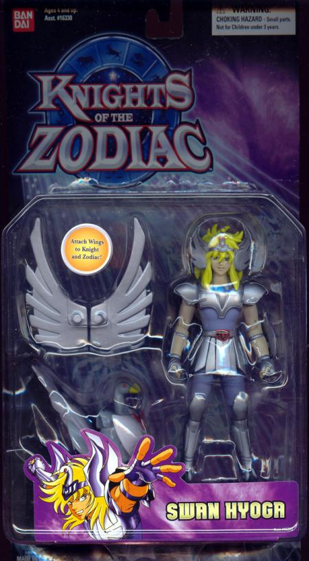 Swan Hyoga Figure Knights Zodiac Bandai