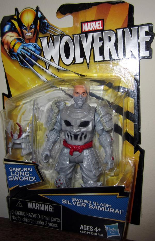 Sword Slash Silver Samurai Wolverine Movie action figure