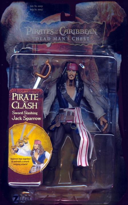 Sword Slashing Jack Sparrow