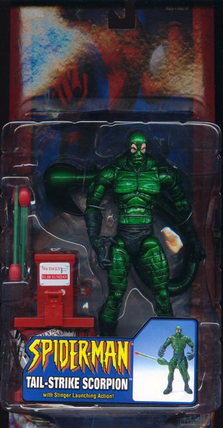 Tail-Strike Scorpion Classic Repaint Spider-Man action figure