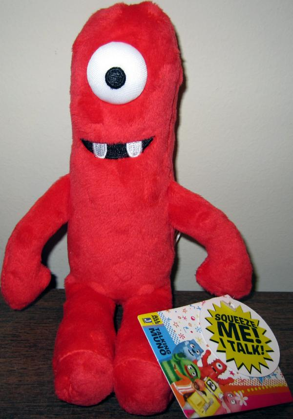 Muno Talking Plush Yo Gabba Gabba
