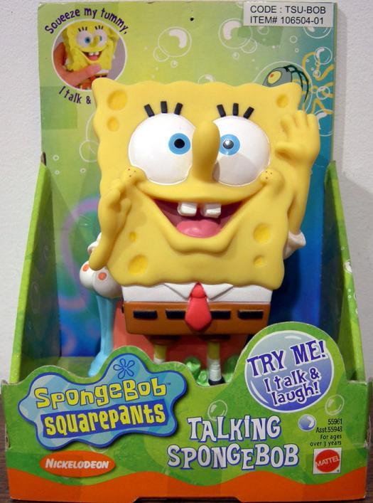 Spongebob Squarepants talking