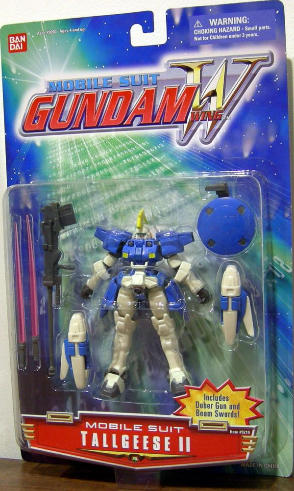 Tallgeese II Mobile Suit Gundam Wing action figure