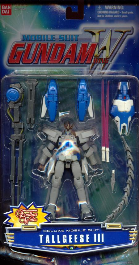 Tallgeese III Figure Deluxe Mobile Suit Gundam Wing
