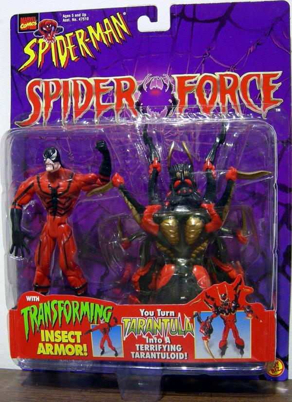 Tarantula Spider-Man Spider Force action figure