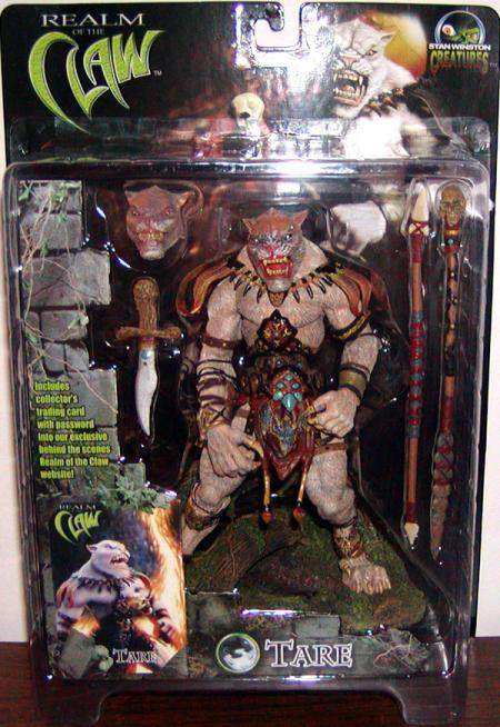Tare Action Figure Realm Claw Stan Winston Creatures