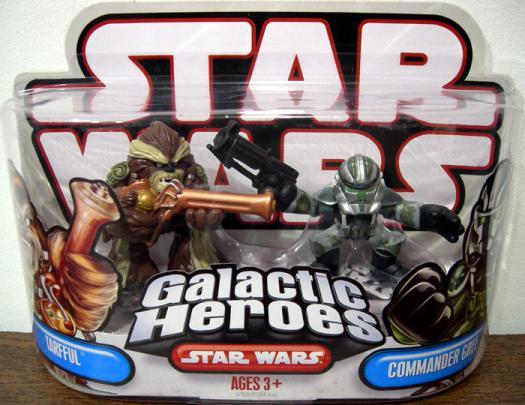 Tarfful Commander Gree Galactic Heroes