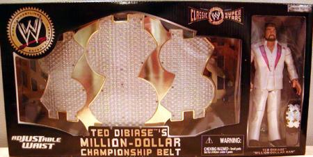 Ted Dibiases Million-Dollar Championship Belt