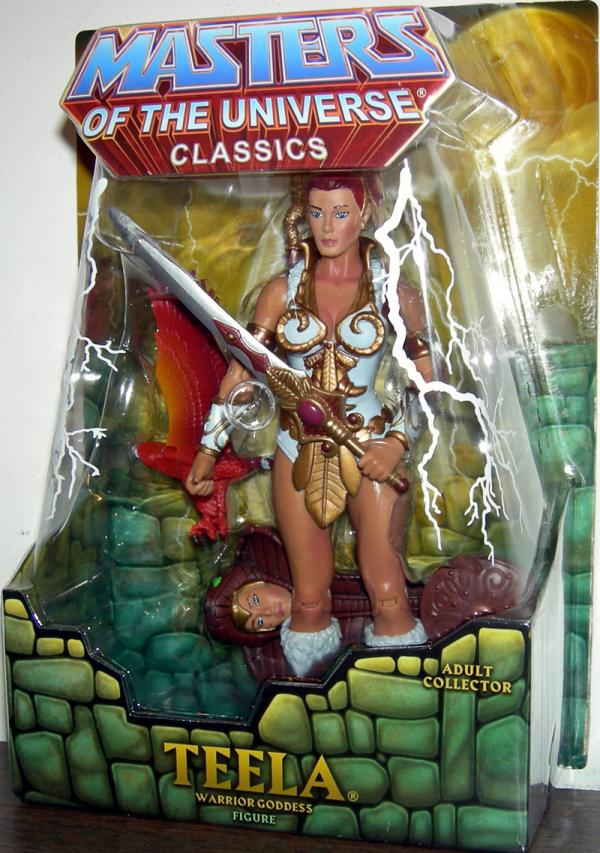 Teela Classics Figure Masters Universe Mattel