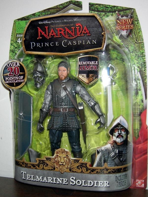 Telmarine Soldier Action Figure Chronicles of Narnia Jakks