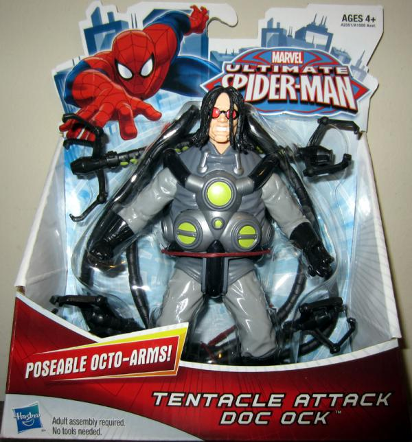 Tentacle Attack Doc Ock Action Figure Ultimate Spider-Man