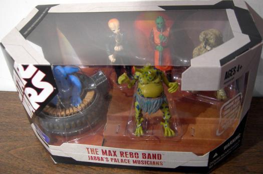 Max Rebo Band Figures Jabbas Palace Musicians Star Wars