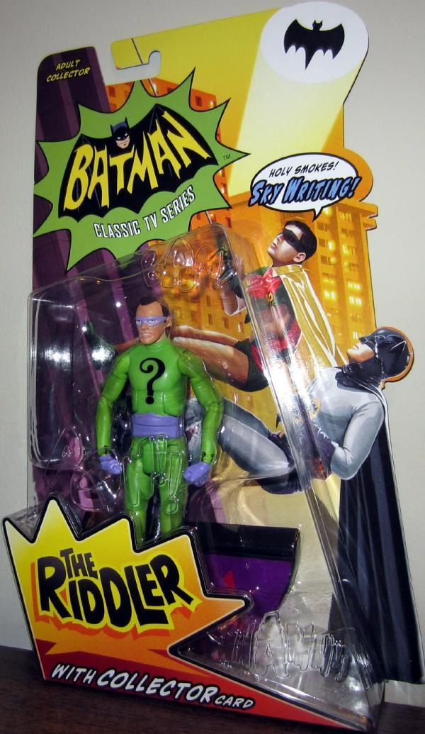 Riddler Batman Classic TV Series action figure