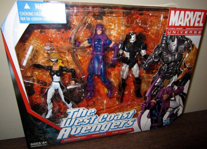 West Coast Avengers Marvel Universe action figures