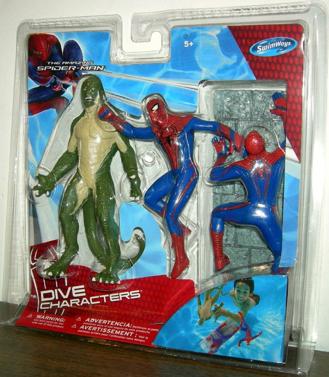 The Amazing Spider-Man Movie Dive Characters 3-Pack