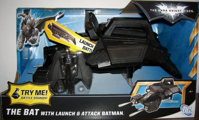 The Bat Launch Attack Batman Dark Knight Rises