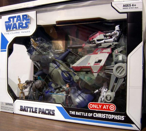 The Battle Christophsis Battle Pack Clone Wars