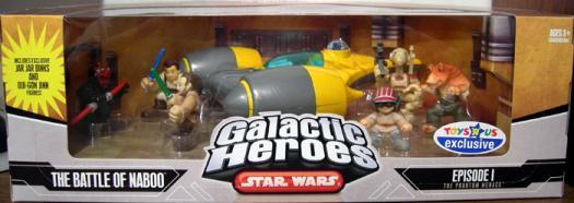 The Battle Naboo 7-Pack Galactic Heroes