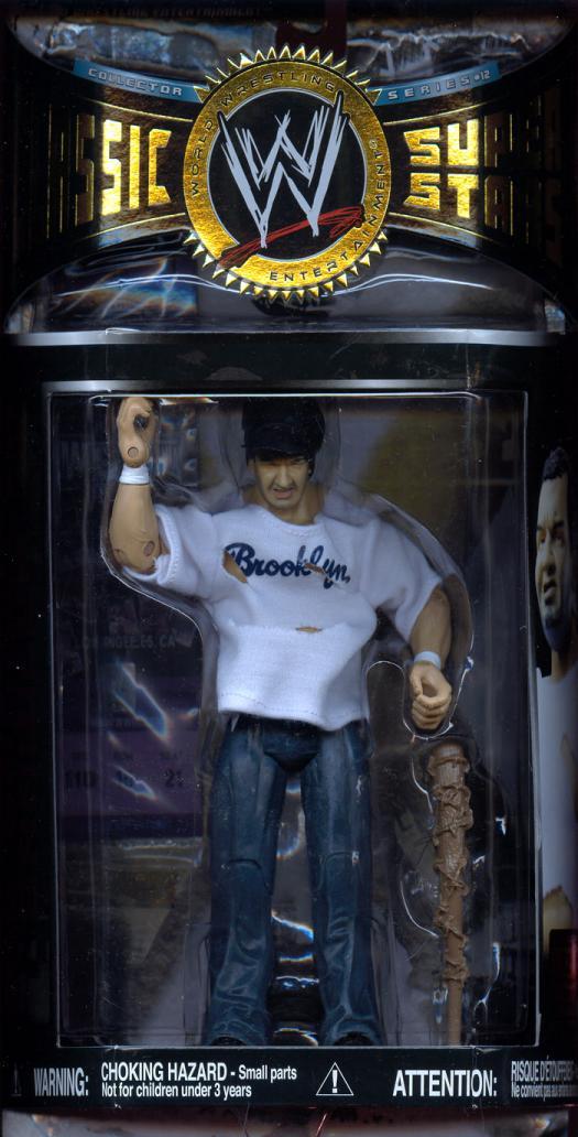 Brooklyn Brawler Action Figure WWE Classic Super Stars