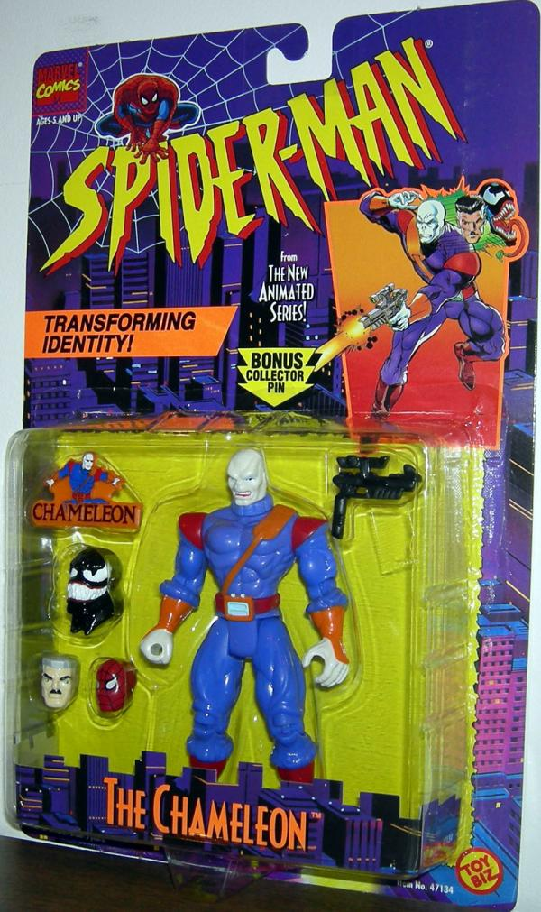 Chameleon Spider-Man Animated action figure