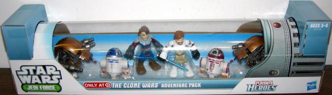 The Clone Wars Adventure Pack Playskool Heroes, Target Exclusive