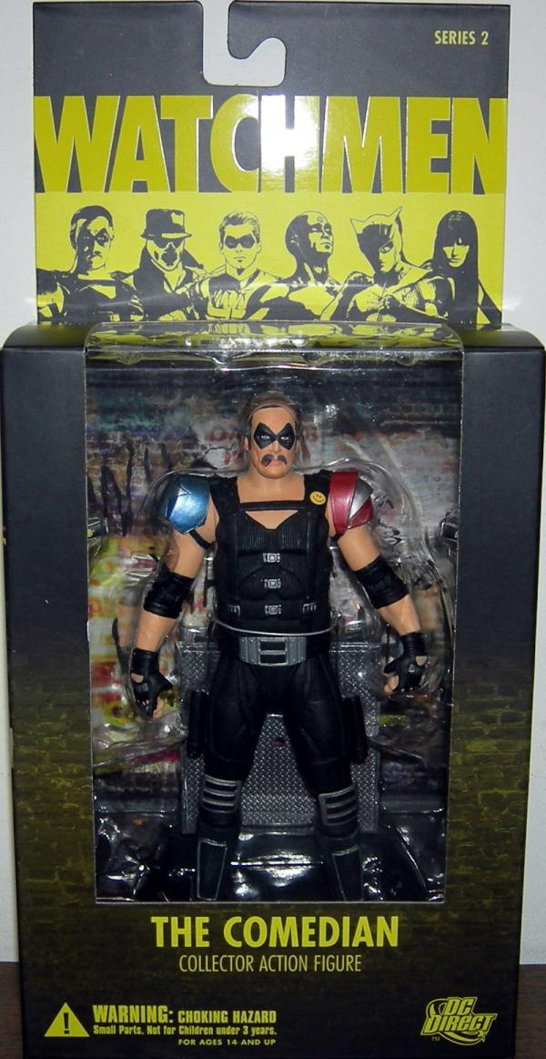 Comedian Watchmen Movie action figure