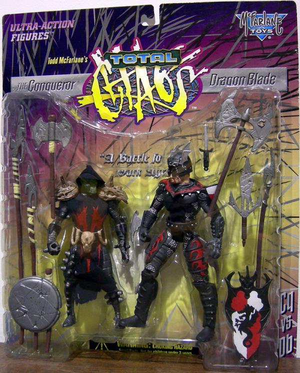 Conqueror Dragon Blade Total Chaos action figures