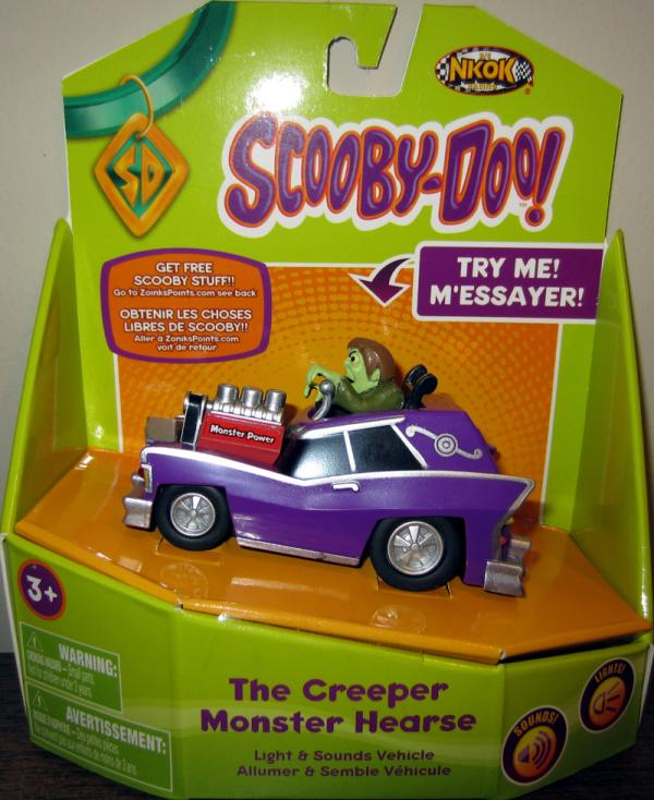 Creeper Monster Hearse Scooby-Doo vehicle