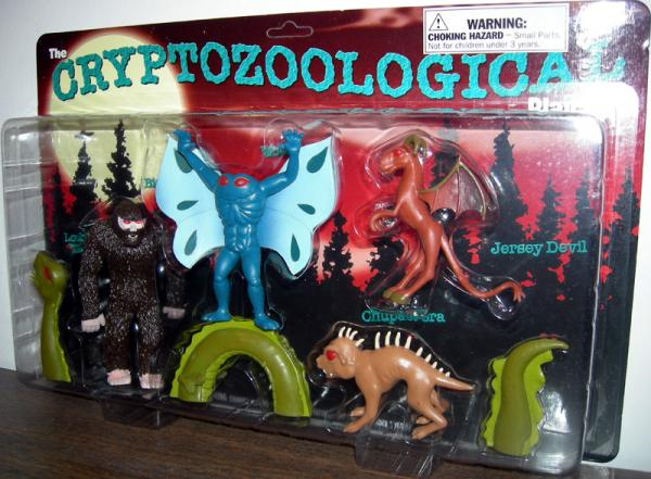 Cryptozoological Play Set Action Figures 5-Pack Accoutrements