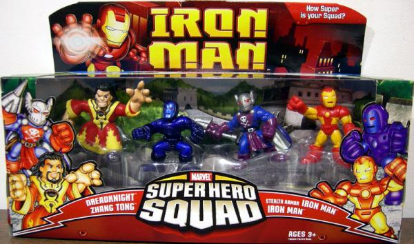 The Danger Dreadknight 4-Pack Super Hero Squad