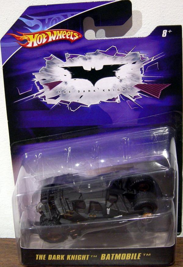 The Dark Knight Batmobile 1-50th scale