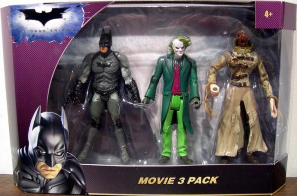 Movie 3 Pack Dark Knight